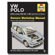 Haynes Manual Volkswagen Polo Petrol/Diesel 51-59 Car Workshop Manuals,Book 4608