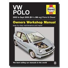 Volkswagen VW Polo Haynes Owners Workshop Repair Manual 2002 - 2005