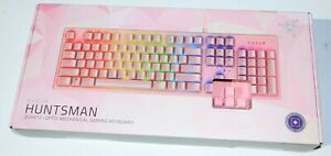Razer HUNTSMAN QUARTZ Pink Purple Axis Opto-Mechanical Gaming Keyboard