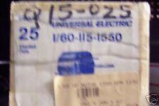 25 UNIVERSAL MOTOR 1/60 115V 1550RPM