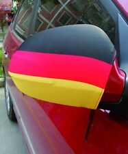 """FAHNE """"DEUTSCHLAND"""" für Auto-Außenspiegel - SPIEGELÜBERZIEHER - 2er SET - NEU"""