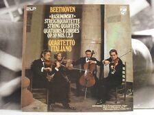 BEETHOVEN - RASUMOWSKY STRING QUARTETS / QUARTETTO ITALIANO - 2X LP NEAR MINT