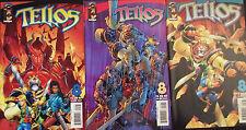 TELLOS 8a,8b,8c...NM-...2000...All 3 Cover Variants!...Bargain Bundle!
