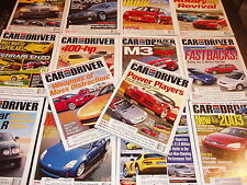 CAR and Driver magazine lot ferrari Enzo Ford GT Lambo Murcielago Jaguar Viper