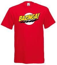 """T-shirt """"Bazinga"""" Sheldon , Big Bang Theory"""