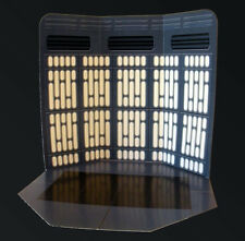 IMPERIAL LIGHTS Custom Star Wars Photo Backdrop Display for Hasbro or Kenner