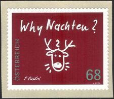 Austria 2015 Christmas/Greetings/Reindeer/Animals/Animation 1v s/a (at1120)