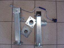 Paar Schwenkstützen 2,6 to. inkl. Kurbel u. Flansch - Qualität von Winterhoff