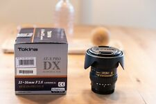 Tokina AT-X Pro 116 11-16 mm F/2.8 II SD AS DX MC WR Aspherical IF (A-Mount)