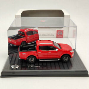 1:43 Nissan Navara 4x4 Pickup Truck Red Diecast Models Limited Collection
