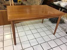 ESSTISCH Tisch TEAK 60er Mid Century Vintage Dining Table 130+100cm 230 cm lang