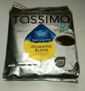 Tassimo Maxwell House Café Collection Morning Blend Coffee BB MR 12  2022