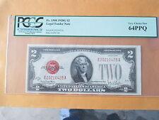 1928-G $2 LEGAL TENDER PCGS 64PPQ