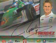 2004 Ryan Hunter-Reay signed Herdez Ford Lola CART Champ Car postcard