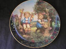 Hummel Apple Tree Boy and Girl Plate 1989