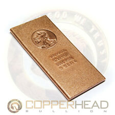 1 Pound lb (16 oz) Walking Liberty American Eagle Copper Bullion Bar 5-8-10-20