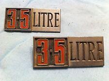 Chrysler 3.5 Litre Fender Badge