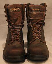 "Men's Carolina 8"" Steel Toe Work Boots Size 10.5D   CA3524  (088)"