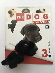 THE DOG COLLECTION 3 Labrador Retriever (opened) Magazine & Toy good condition