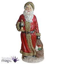 Gisela Graham Festive Père Noël Décoration De Noël Figurine Ornement
