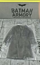 Genuine 1/6 Hot Toys TDK  Batman Armory action figure Alfred Overcoat jacket