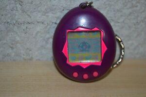 1997 | Tamagotchi | Gen 1 | Purple w/ Pink | P1 | Nano | Giga Pets Tested