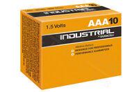 4 x Duracell AAA Industrial Procell Alkaline Batteries LR03, MN2400, MICRO MINI
