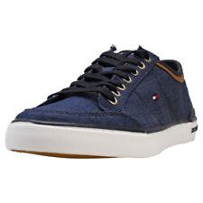 Tommy Hilfiger Core Material Mix Sneaker Uomo Midnight Navy Scarpe  - 43 EU