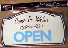 ��Amazing Boutique Sign - 2 Sided - Come In, We're Open / Sorry We Are Closed��