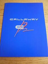 CALLAWAY C12 INFORMATION PACK BROCHURE jm