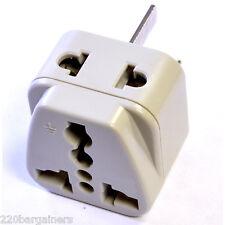 Plug Adapter 2 In 1 - Australia New Zealand China Adapter - Change Plug Style