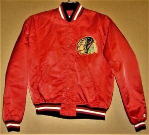 CHICAGO BLACKHAWKS JACKET - SIZE LARGE   -  (Inventory Number 1-0637)