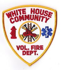 White House Community Vol. Fire  Dept. DC Firefighter Patch NEW!!