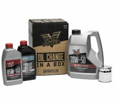 Twin Power 539050 Synthetic 20W50 Oil Change-In-A-Box Kit 99-17 Harley Twin Cam