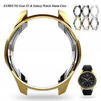 Case for Samsung Gear S3 Frontier & Classic & Galaxy Watch 46mm Soft TPU Plated