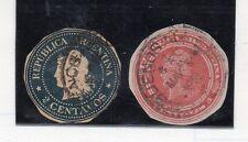 Argentina Valores clasicos de entero postal (CG-850)