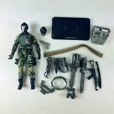 G.I. Joe Gijoe Pursuit of Cobra Android Jungle Bat + Extra Head Stand Weapons