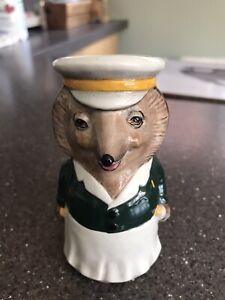 Vintage Toby Jug-Woodland Collection-Mr Pickles-Staffordshire Ceramics-Hedgehog