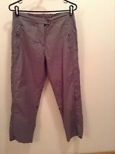 Brown Woolrich hiking pants women's size 6