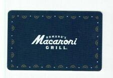 Macaroni Grill Gift Card - Restaurant - Romano's - Italian - No Value -I Combine