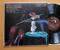 LM-2178 Brahms Double Concerto Mischakoff Miller Toscanini RCA Victor Mono LP