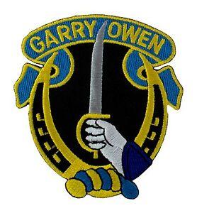 "Garryowen 7th Cavalry Regiment Patch (020) 2 3/4"" x 3  Embroidered Patch 35455"