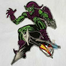 """Marvel Green Goblin Embroidered Big Patch for Back Comics Spiderman Villain 10"""""""