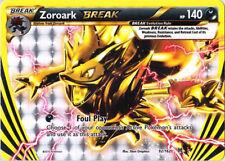 Pokemon XY BREAKthrough Zoroark BREAK 92/162 Rare Card
