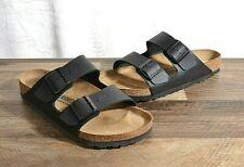 Birkenstock Arizona Women's 9 Med Men's 7 Birko-Flor Sandals Cork Shoe 40 BLK