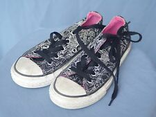 Converse All Stars - Low Top - Black - Junior Size 12 -- FREE SHIPPING!