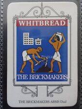 No.13 THE BRICK MAKERS ARMS - DEAL - Kent WHITBREAD INN SIGNS 1973