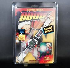 """Rare"" CASIO JG-310 7AT Cyber Max Cartoon Heros DOOB SP Vintage Game Watch F/S"