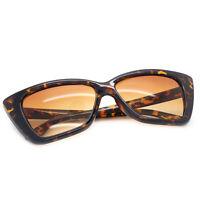 New Oversized Cat Eye Sunglasses Vintage Retro Style Plastic Frame Women Fashion