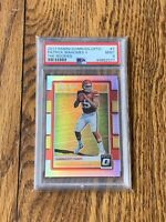 (LIMITED QTY REPACK) Patrick Mahomes Optic The Rookies PSA 9 RC 🏈 (READ FIRST!)